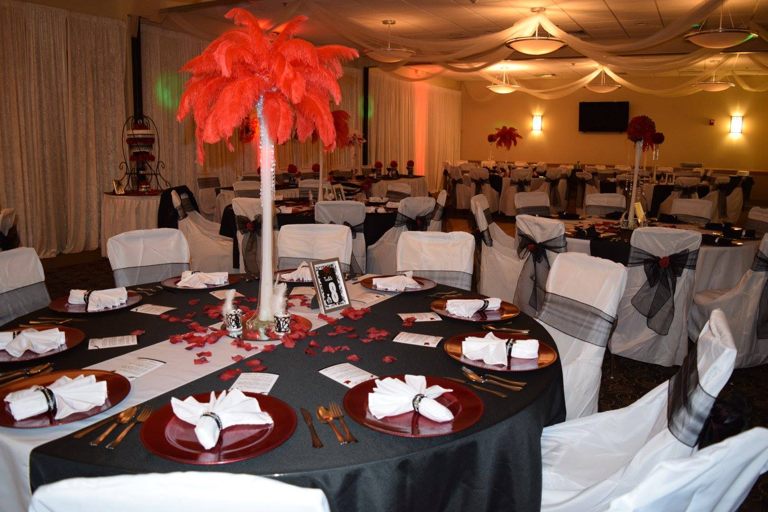 Photo of a reception space