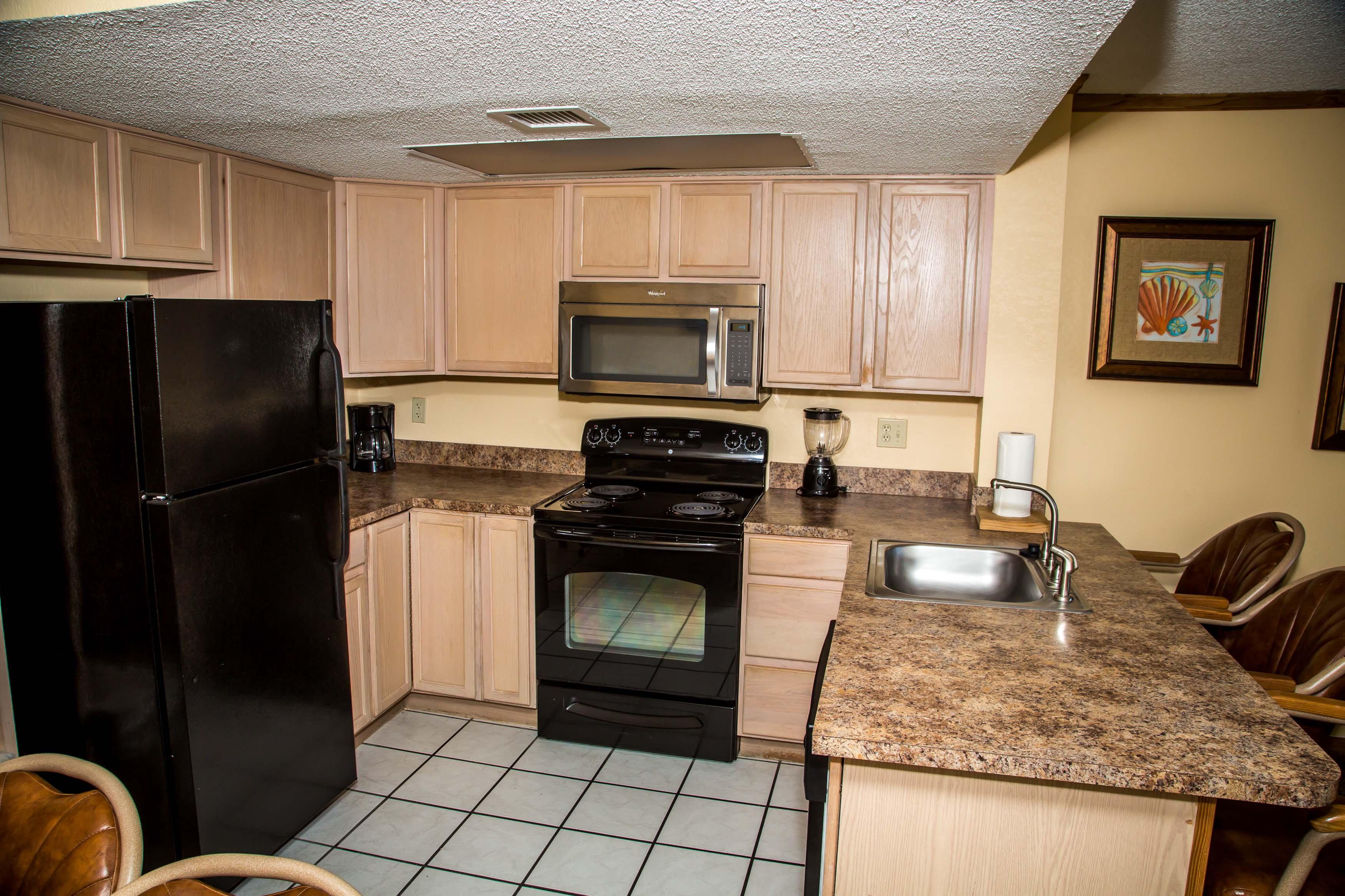 6-Kitchen-Area-Two-Bedroom-Oceanfront